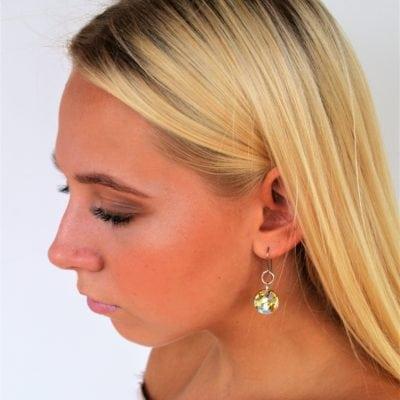 Baby Chunk Drop Earring